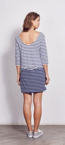 Contrast Catherine Dress