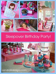 Spa party on a budget. Love the balloon idea and pillow case decorating/favor.
