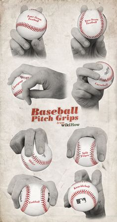 How to pitch a baseball - great illustration on how to swerve, slurve, curve, and knuckle.  Bennet already knows this