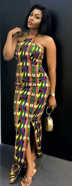 I would definitely rock this outfit to an outing with the squad. Then let African Fashion Wears do that for u just the wat u like Call/Whatsapp 08059031311 African Dresses For Women, African Print Dresses, African Fashion Dresses, African Attire, African Women, Fashion Outfits, African Prints, Men's Fashion, African Wear For Ladies