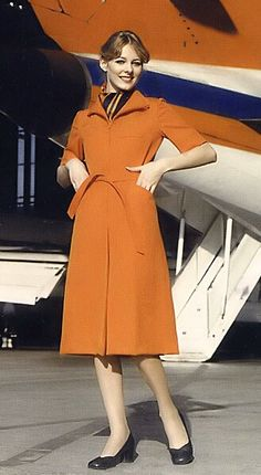 Hapag Lloyd Stewardess