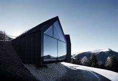 Cabaña de Montaña Oberholz,© Oskar Dariz