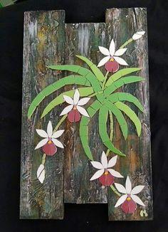 Mosaic Tile Art, Mosaic Artwork, Mosaic Diy, Mosaic Garden, Mosaic Crafts, Mosaic Projects, Mosaic Glass, Glass Art, Mosaic Flowers