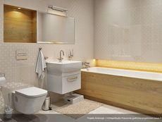 DOM.PL™ - Projekt domu MT Ambrozja 2 CE - DOM ST9-25 - gotowy koszt budowy Cottage Plan, My House, Toilet, Sweet Home, Bathtub, Bathrooms, Garage, Home Plans, House