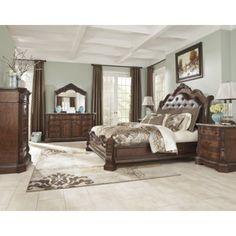 nebraska furniture mart – ashley 5-piece shay king bedroom set