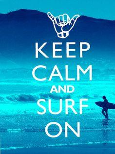 335dca5593 Items similar to Beach Decor Art Print - Keep Calm And Surf On on Etsy