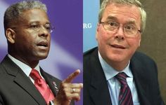 Lt. Col. Allen West, reacting to Jeb Bush's announcement on Tuesday that he's seriously considering a 2016 presidential bid, used strong words to describe the politics of the former Republican Florida governor. Appearing on FOX News with Sean Hannity, West, referring to Bush running against Democrat frontrunner Hillary Clinton, said that match is the last thing…
