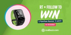 RT to WIN a TomTom Runner 3 Watch  jet s. (@frugaliscious) | Twitter