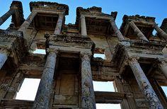 The Library Of Celsus. Ephesus Turkey