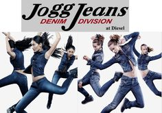 Jogg Jeans at Diesel - A Hybrid Denim  JOGGJEANS are a unique fusion of design and a groundbreaking new fabric, that combines the iconic style and durability of denim with the relaxed attitude and comfort of sweatpants... https://www.facebook.com/pages/Fashion-Trends-and-Discounts/137797606390386