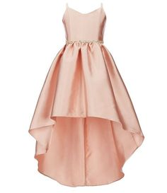 Rare Editions Big Girls Satin Twill High-Low Hem Dress – Outfit Inspiration & Ideas for All Occasions Middle School Dance Dresses, 8th Grade Dance Dresses, School Dresses, Grad Dresses, Homecoming Dresses, Maxi Dresses, School Outfits, Middle School Graduation Dresses, 8th Grade Formal Dresses