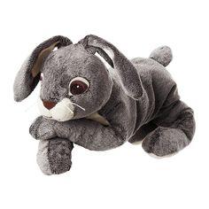 IKEA - VANDRING HARE, Stoffspielzeug, , Stofftiere sind prima Kameraden zum Schmusen, Trösten, Zuhören, zum Spielen und Unfugmachen. Robust und sicherheitsgetestet sind sie auch.