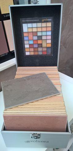 Musterplatten Koffer #Volimea  #Malerfachbetrieb Frank Jordan