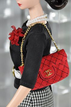 Chanel luxe doll