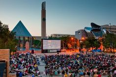 Free Events in #YEG: Get Out to Movies on the Square - from great blog Frugal Edmonton Mama