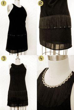 Wear The Canvas: DIY Flapper Dress Costume