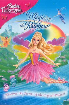 Barbie Fairytopia Magic of the Rainbow 2007 Movie Poster 22x28 – BananaRoad