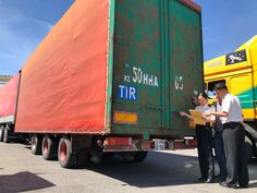 History is made: the first #TIR truck crosses the China-Kazakh border at #Khorgos. #silkroad #beltandroad #trade