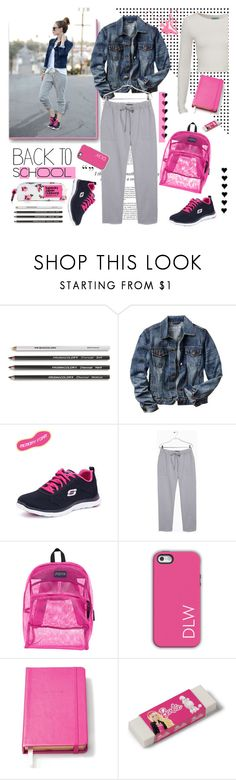 """Back to School: New Backpack"" by j-sharon ❤ liked on Polyvore featuring Haze, Gap, Skechers, MANGO, JanSport, Dabney Lee, Kate Spade, Nici, Superdry and BackToSchool"