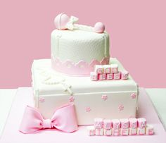 Baby Shower Girl Cake
