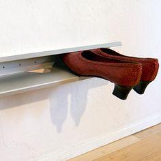 Domu Design Stainless Steel Home Organizers Modular Shelves For Kitchen Bath Office Shoe Shelf
