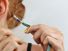 hair wrap tutorial |Gina Michele