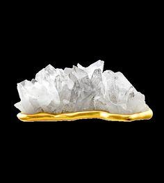 joy sculpture - 24-karat gold quartz pinned with #Bazaart - www.bazaart.me