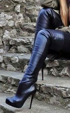 Thigh High Boots, High Heel Boots, Over The Knee Boots, Heeled Boots, High Heels, Ankle Boots, Sexy Boots, Black Boots, Sexy Heels