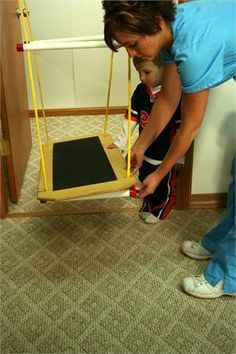 Rainy Day® Indoor Platform Swing Proudly Made in America via www.BuyDirectUSA.com #madeinusa