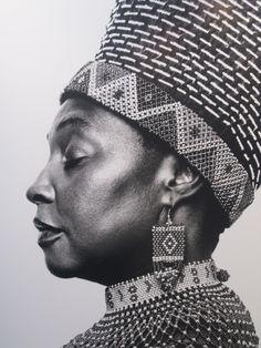 Africa | South African pop legend Yvonne Chaka Chaka | Photo by Platon