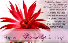 Friendship Day Flowers Images