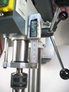 "Cheap Drill Press DRO ""Z"""