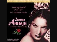 Estas bulerías tan especiales, de tanto arte y tanto brío (toda ella en la misma Carmen Amaya) quiero dedicárselas, con todo mi cariño, mi admiración y mi re...
