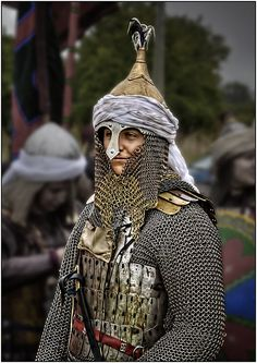 Saracen Warrior by LesAuld, via Flickr
