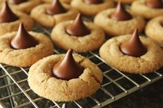 Peanut Butter Blossoms. Photo by Delicious as it Looks