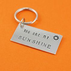 You Are My Sunshine Key Chain