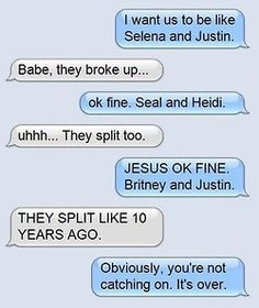 Breaking up via text is the worst. You have to see these breakup texts.