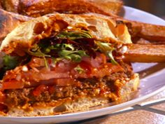Latin-Spiced Lamb Burgers Recipe : Food Network - FoodNetwork.com