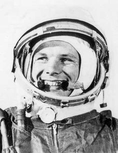 1961 - The Soviet Union beats the USA in the race to get the first man into space and Yuri Gagarin becomes a national hero. http://www.historicalshirts.com/European-History/Yuri-Gagarin.html