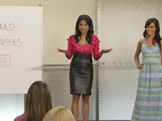 Should short women avoid wearing long dresses? Fashion expert Jeannie Mai shows how women of all heights can wear the trend.