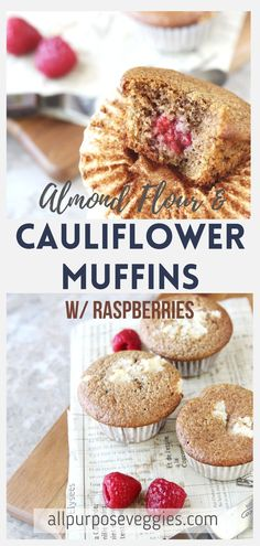 cooking with cauliflower rice has never been more sweet! Here's one of the best cauliflower recipes with riced cauliflower - cauliflower muffins. It's a quick and easy recipe to help solve your sweet cravings. It's also gluten free, healthy and paleo. The best part? These muffins are prepared all in a food processor. Just perfect for breakfast. #cauliflowerrecipes #ricedcauliflower Cauliflower Muffins, Best Cauliflower Recipe, Riced Cauliflower, Gluten Free Cupcake Recipe, Gluten Free Desserts, Cupcake Recipes, Dessert Recipes, Egg Free Recipes, Muffin Recipes