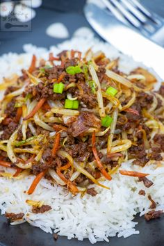 Entree Recipes, Meat Recipes, Whole Food Recipes, Cooking Recipes, Dinner Recipes, Korean Beef Recipes, Ground Beef Recipes, Asian Recipes, Recipes