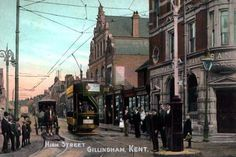 Shop Old Postcard - Gillingham, Kent created by Personalise it with photos & text or purchase as is! Chatham Kent, Places In England, Kent England, Gillingham, Vintage Postcards, Old Photos, Ashford Kent, The Past, Old Things
