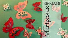 Decora tu Habitación con Mariposas de Papel (fácil y rápido), Mariposas ...