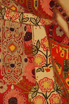 Detail from Leon Bakst's costume design for The Firebird.