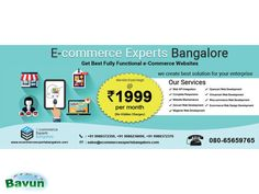 Bangalore No-1 Trusted Name Ecommerce website development company Your website is the most important component of your company's marketing plan. It's the central hub for your ...