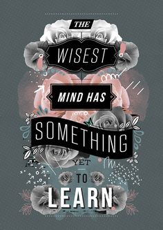 There is always something to learn!