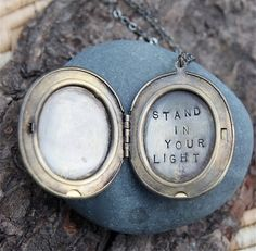 a wish for you, for me :: a whispered soul mantra locket