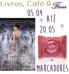 ALEGRIA DE VIVER E AMAR O QUE É BOM!!: [DIVULGAÇÃO DE SORTEIOS] - Livros, café & flores: ...