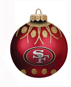 Boelter San Francisco 49ers Ornament Home /& Away Jersey Ornaments Set of 2